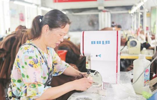 乡村微工厂助村民家门口就业